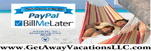All Inclusive Vacation Package Payment Plan Layaway Deposit Financing Paypal Bill Later Book Getaway