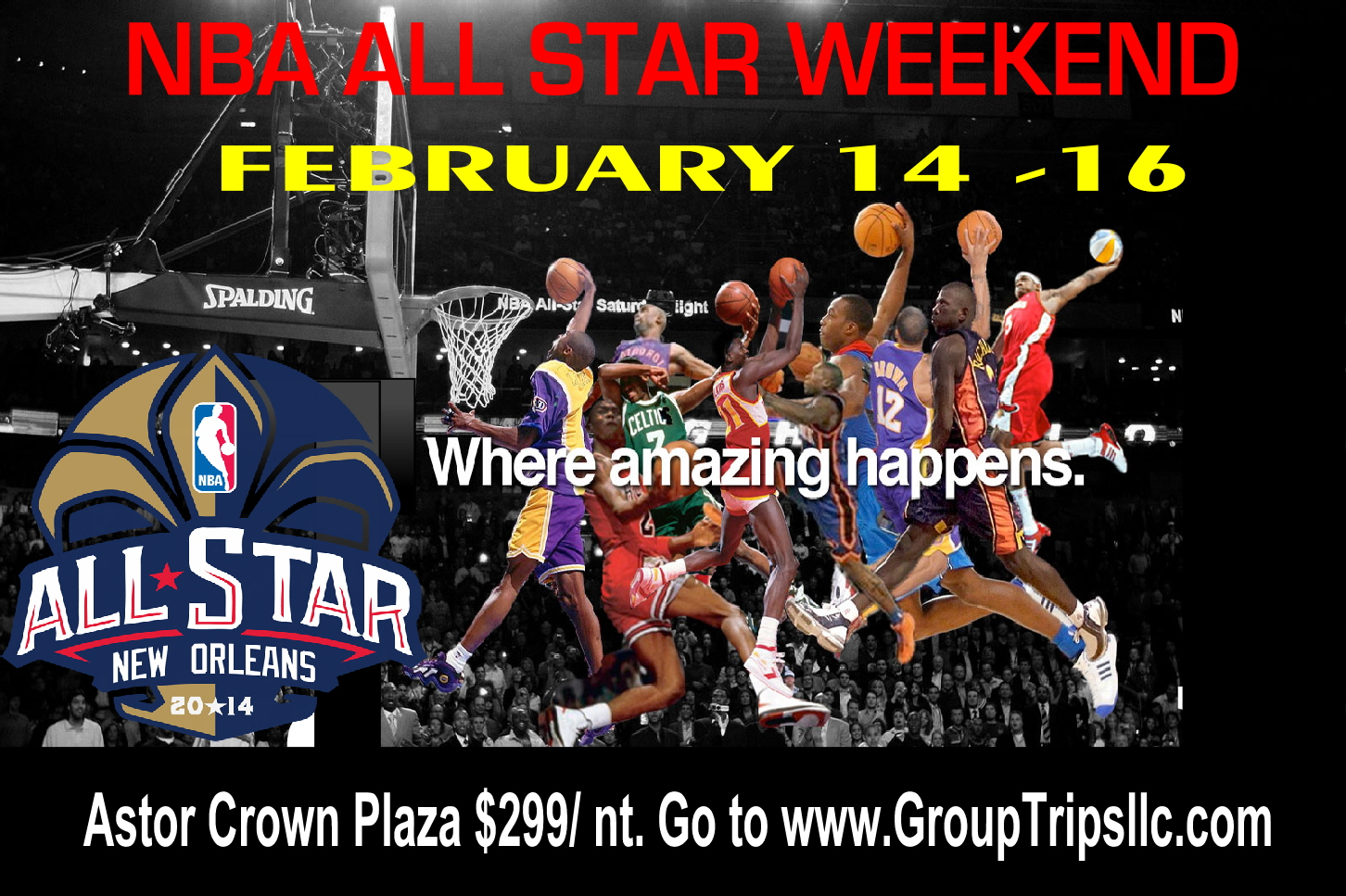 NBA ALL STARS GAME 2014 NEW ORLEANS
