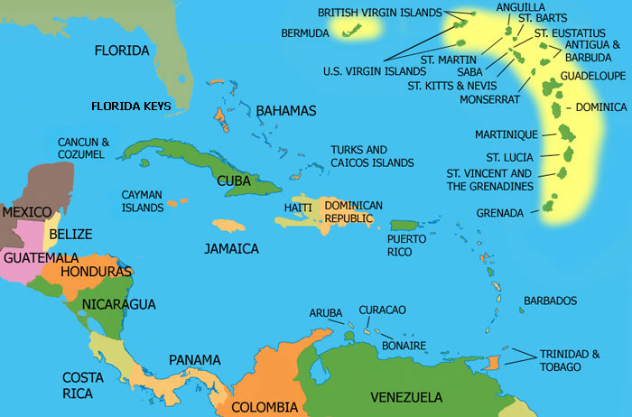 Destination Weddings Marriage Laws requirements caribbean map free complimentary payment plan